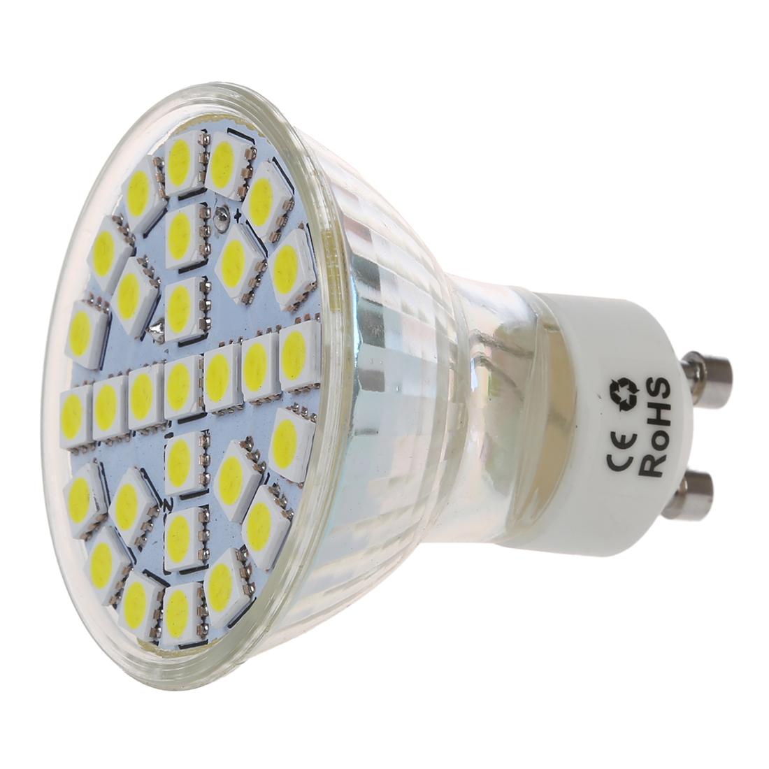 gu10 5w 29 led 5050 smd ampoule spotlight lampe spot bulb lumiere blanc 220 j4u5 ebay. Black Bedroom Furniture Sets. Home Design Ideas