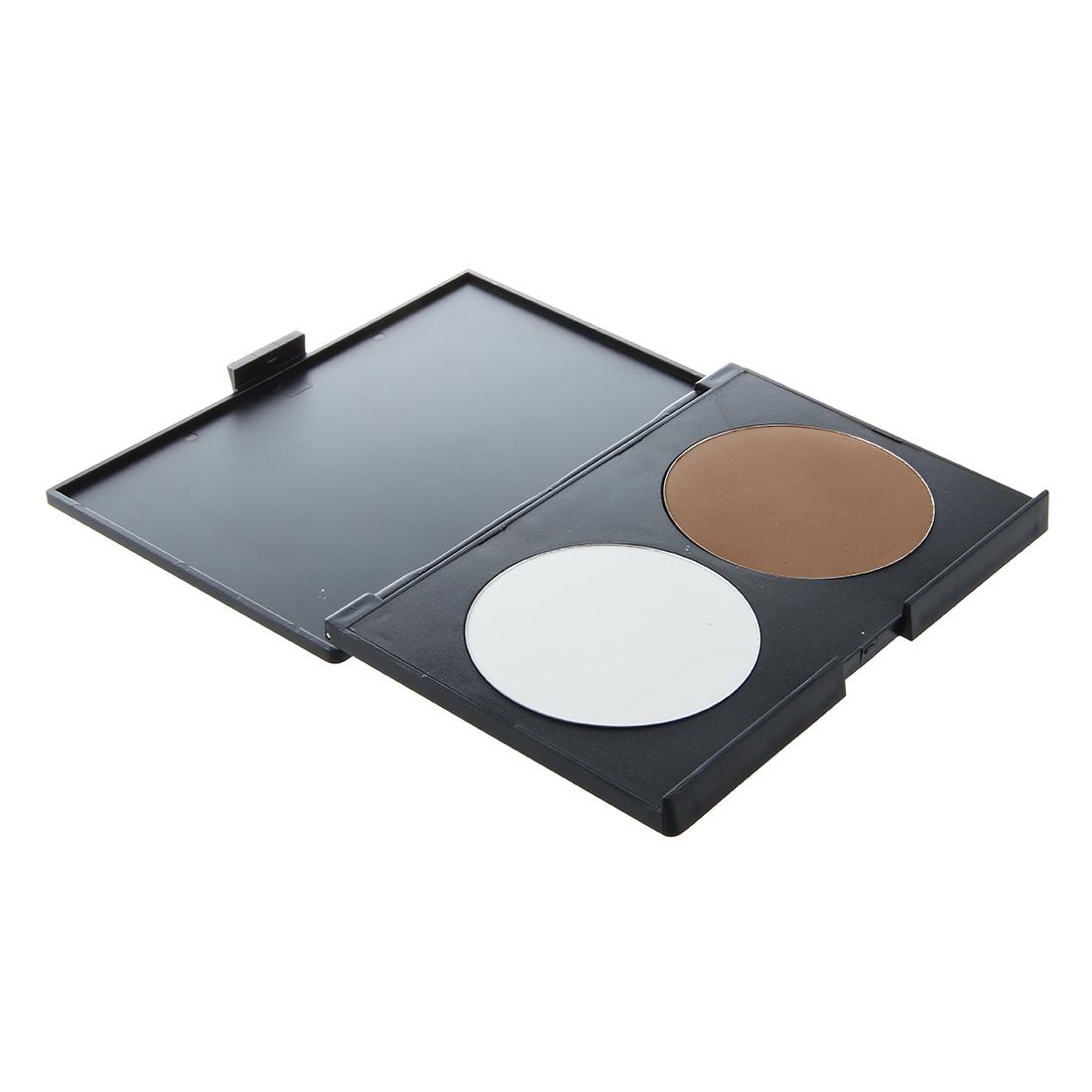 poudre compact fond de teint blanc brun couverture fondation maquillage wt ebay. Black Bedroom Furniture Sets. Home Design Ideas