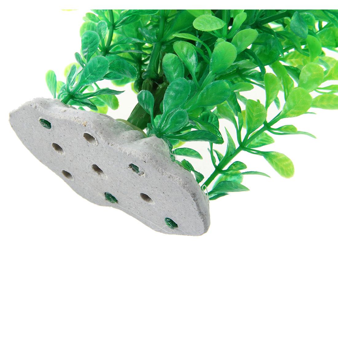 5x gruen gefaelschte plastik wasserpflanzen fuer aquarium. Black Bedroom Furniture Sets. Home Design Ideas