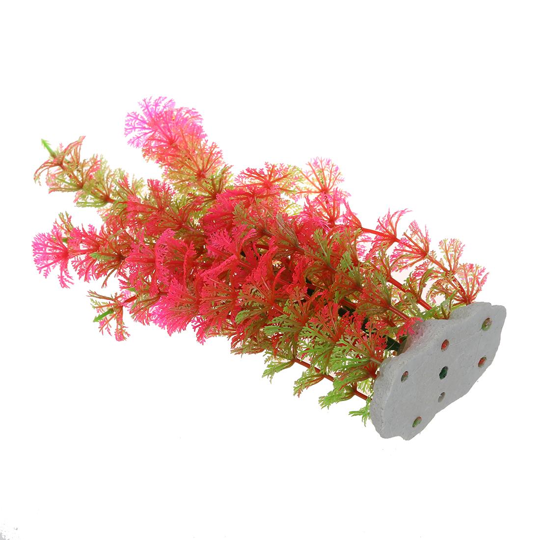 rosa gruen kuenstliche wasserpflanzen fuer fischbehaelter. Black Bedroom Furniture Sets. Home Design Ideas