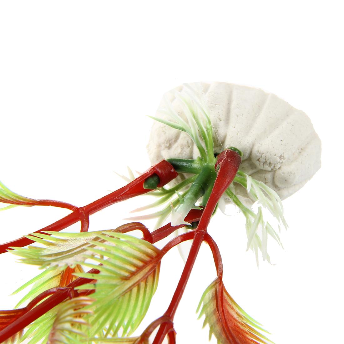 Planta artificial decoracion decorativo acuarios pecera for Estanque decorativo