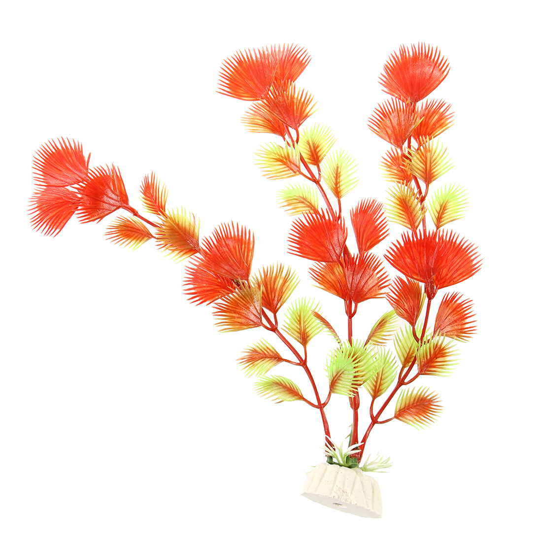 Planta artificial decoracion decorativo acuarios pecera for Estanque decorativo