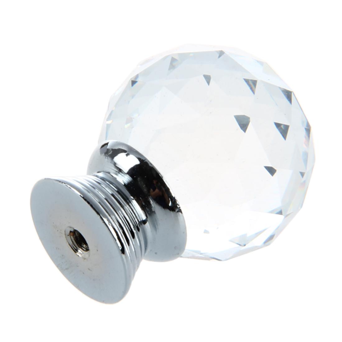 Clear acrylic knobs