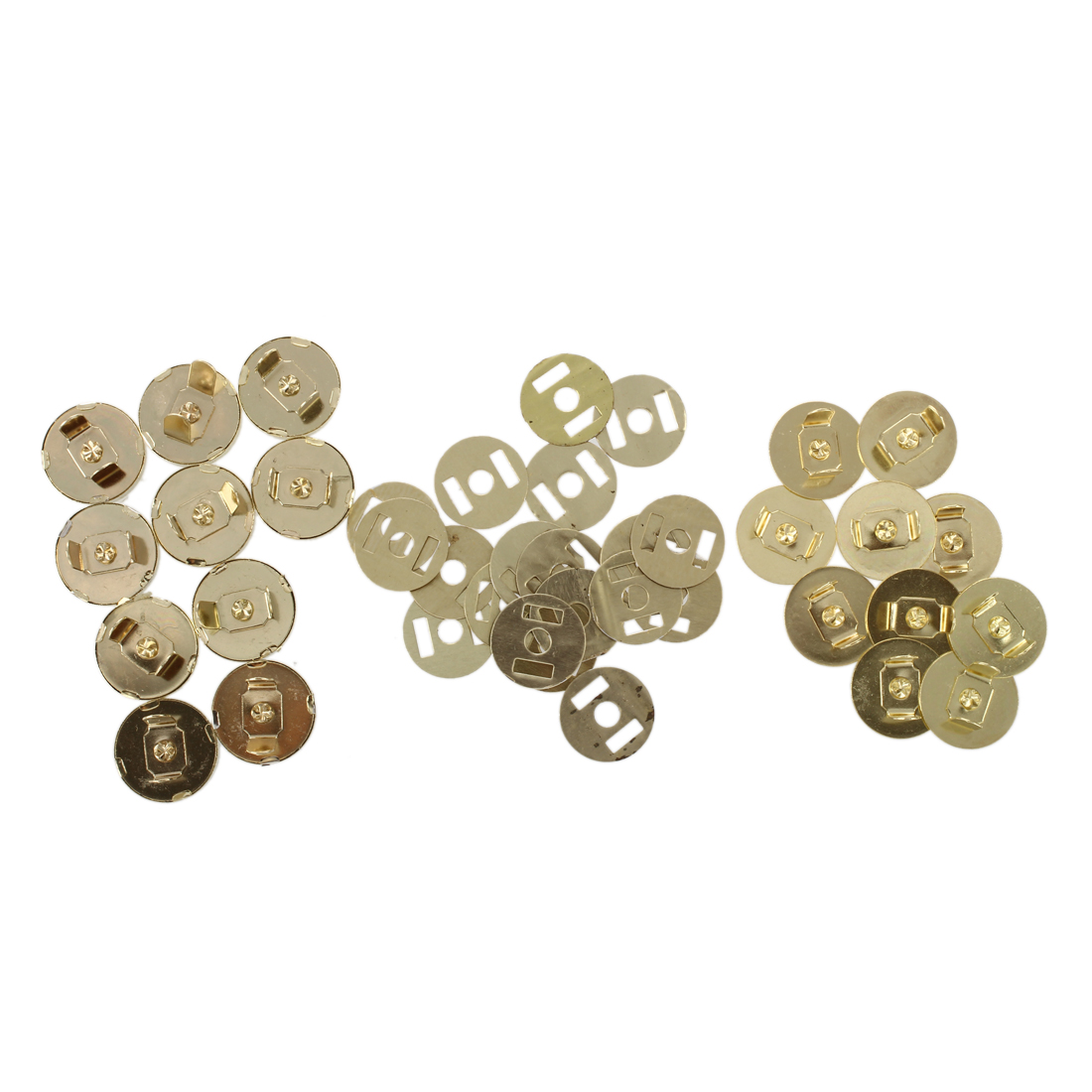 10 pcs Gold Magnetic Snap Fasteners Buttons 18X14MM X5Z7