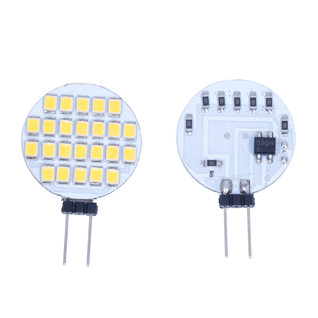 10 g4 warm white 24 led 3528 smd spot light lamp bulb dc 12v dt ebay. Black Bedroom Furniture Sets. Home Design Ideas