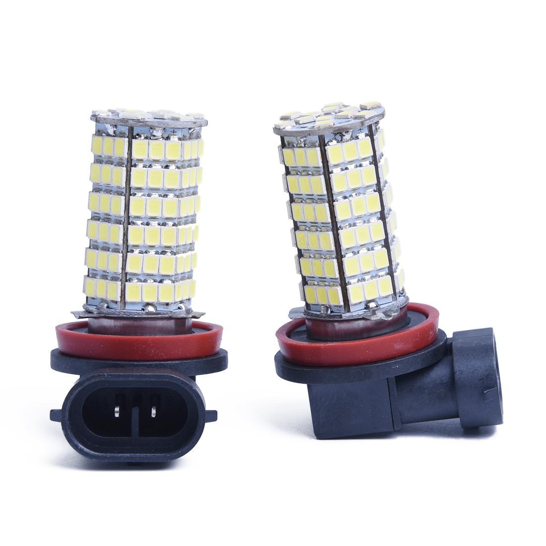 728h3 2weiss h11 12v 120smd led scheinwerfer auto kfz leuchte birne licht lampen ebay. Black Bedroom Furniture Sets. Home Design Ideas