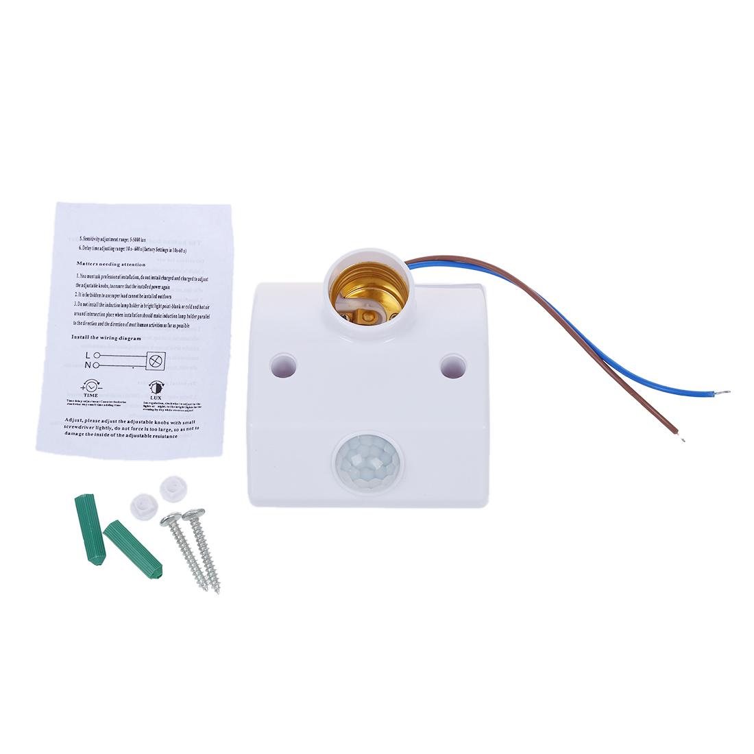 Culot douille ir ampoule lampe a detecteur mouvement wt ebay - Douille detecteur de mouvement ...
