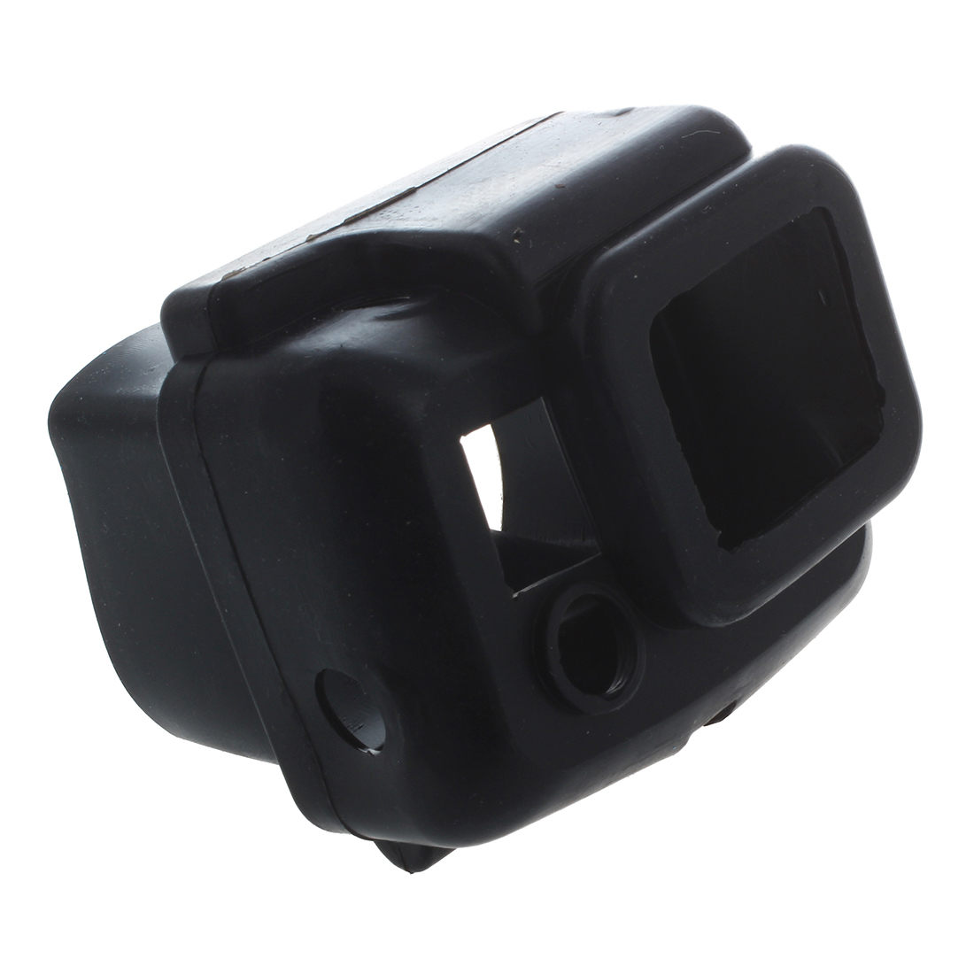 Housse etui protection silicone noir pour camescope gopro for Housse camescope