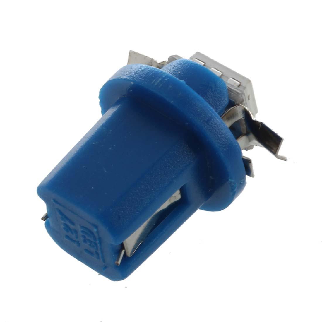 ampoule led smd compteur tableau de bord b8 5d t5 avec support bleu tuning wt. Black Bedroom Furniture Sets. Home Design Ideas