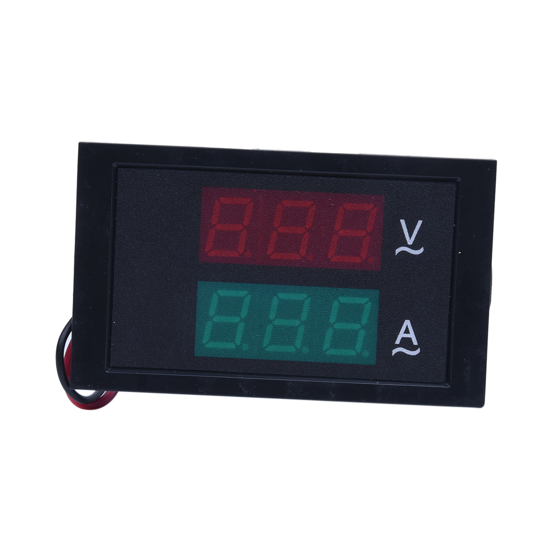 led digital volt amp panel meter voltmeter ammeter ac 80. Black Bedroom Furniture Sets. Home Design Ideas