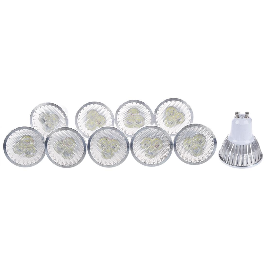 10 x gu10 3 led ampoule bulb spot lampe dimmable blanc haute puissance wt ebay. Black Bedroom Furniture Sets. Home Design Ideas