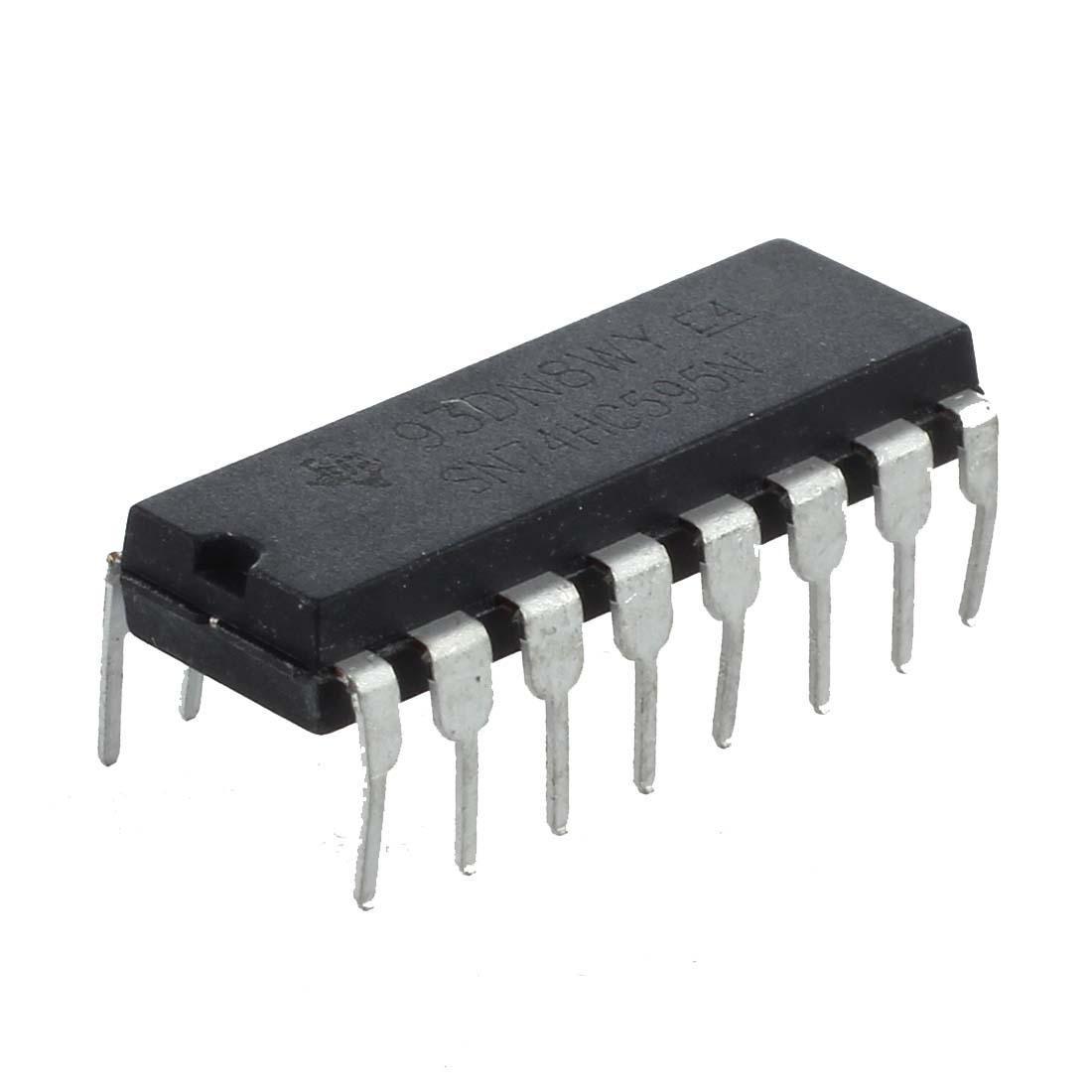 5x 74hc595 porte cmos logique ic 5 pieces 8 bit for Porte logique ou