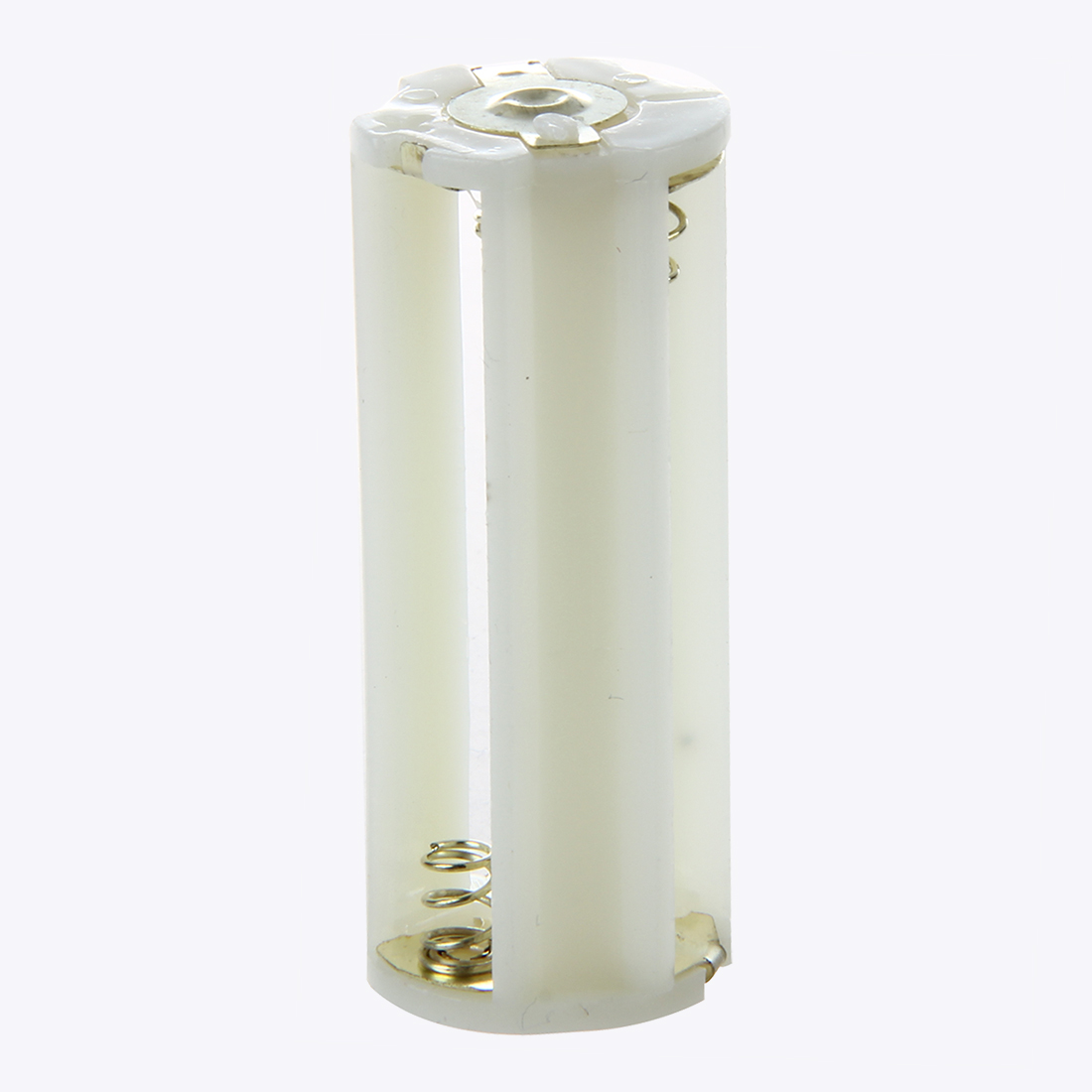3Pcs 18650 Battery Tube Holder Plastic Case Adaptor For Flashlight Torch LamCWIC