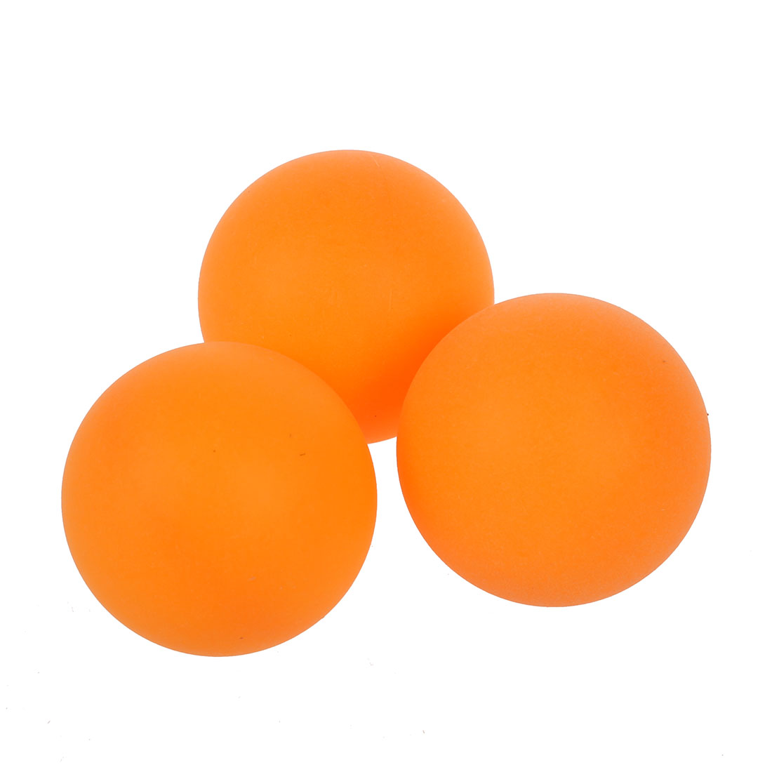 Sport orange ping pong balles de tennis de table 4cm dia - Balle plastique tennis de table ...