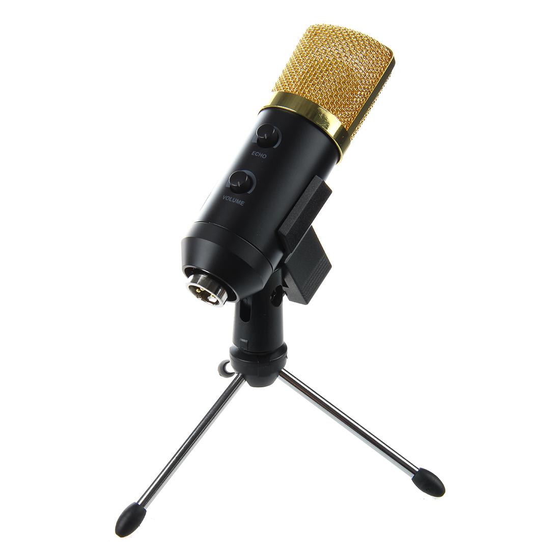 usb studio condenser recording microphone with sponge audio cable tripod e8z8 ebay. Black Bedroom Furniture Sets. Home Design Ideas