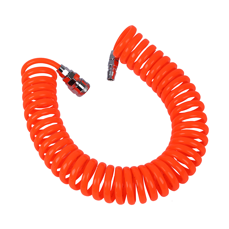 Tuyau en spirale pneumatique flexible PU pour compresseur dair 6M 19.7ft 8mm x 5mm R SODIAL