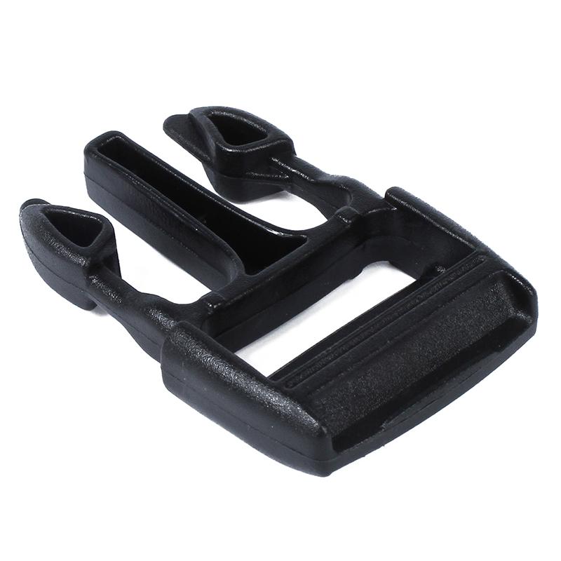 10 Pcs 3cm Width Band Belt Luggage Boxes  Release Buckles Black