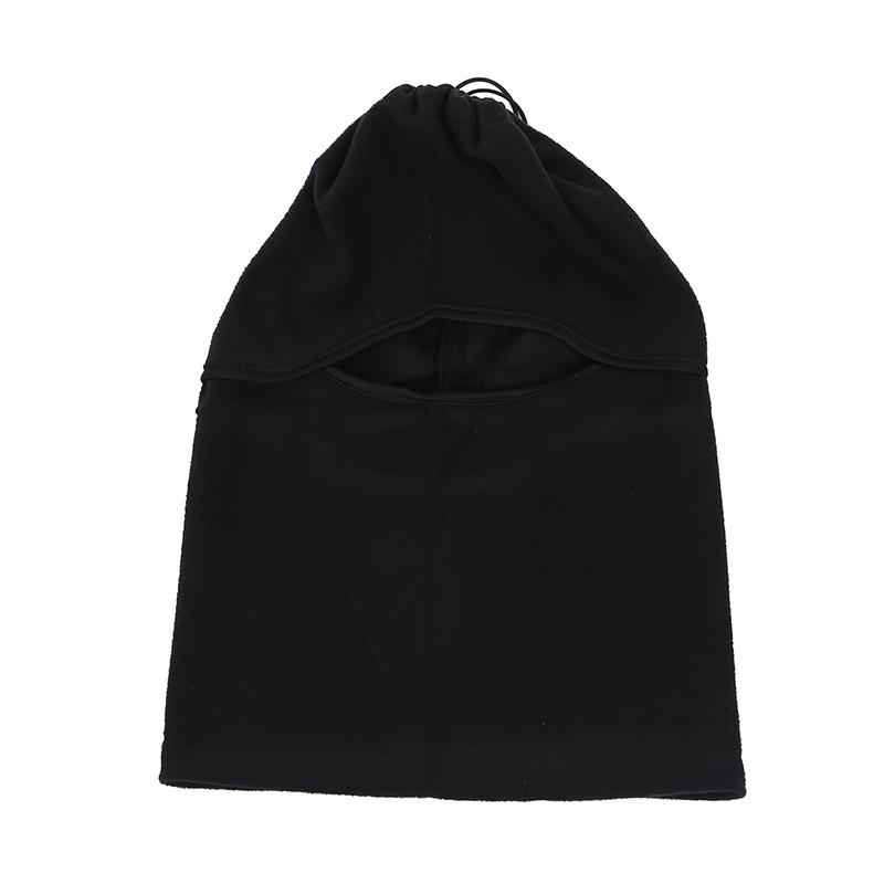 4 in 1 uomo Copricollo sciarpa cappuccio Balaclava Scaldacollo cappello di  inverno nero. Design copre viso e collo. Questo elegante multifunzione  cappello ... 19c2a396c879