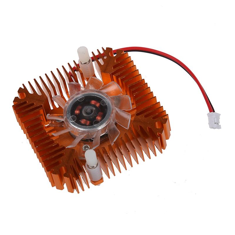 PC Computer Laptop CPU VGA Video Card 55mm Cooler Cooling Fan Heatsink X4P9