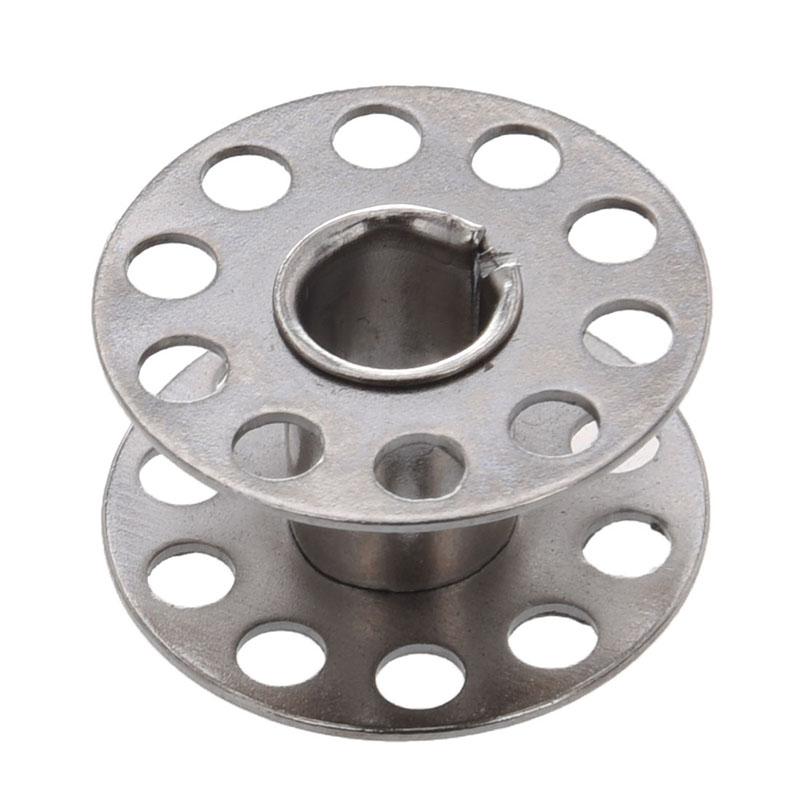 2X(10x Carrete bobina de metal para maquina de coser