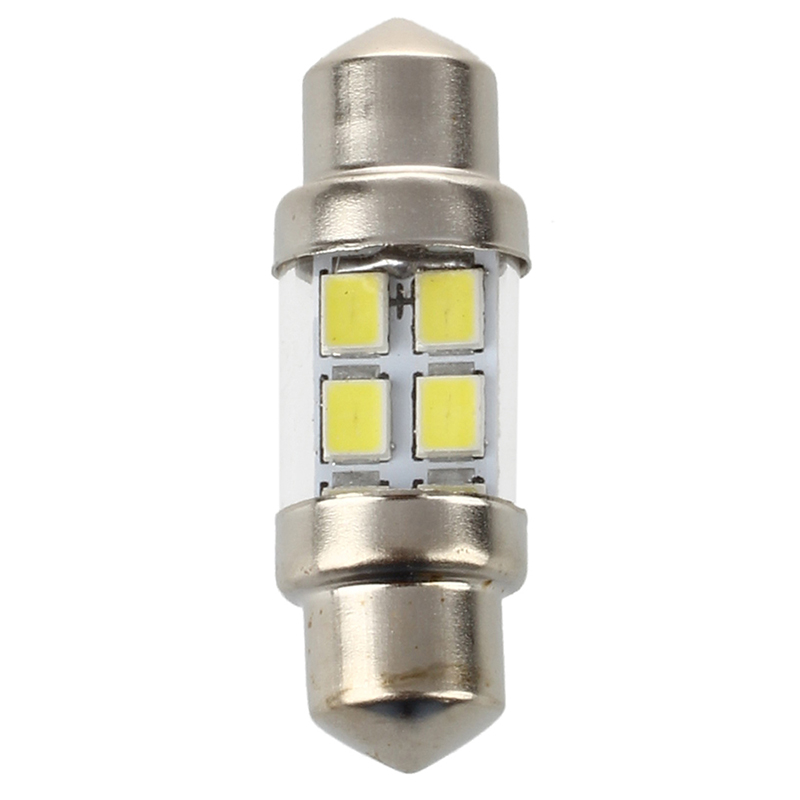 2x 2 x bombilla lampara c5w blanco puro 6 smd 1210 led 35mm para coche v1c5 ebay. Black Bedroom Furniture Sets. Home Design Ideas