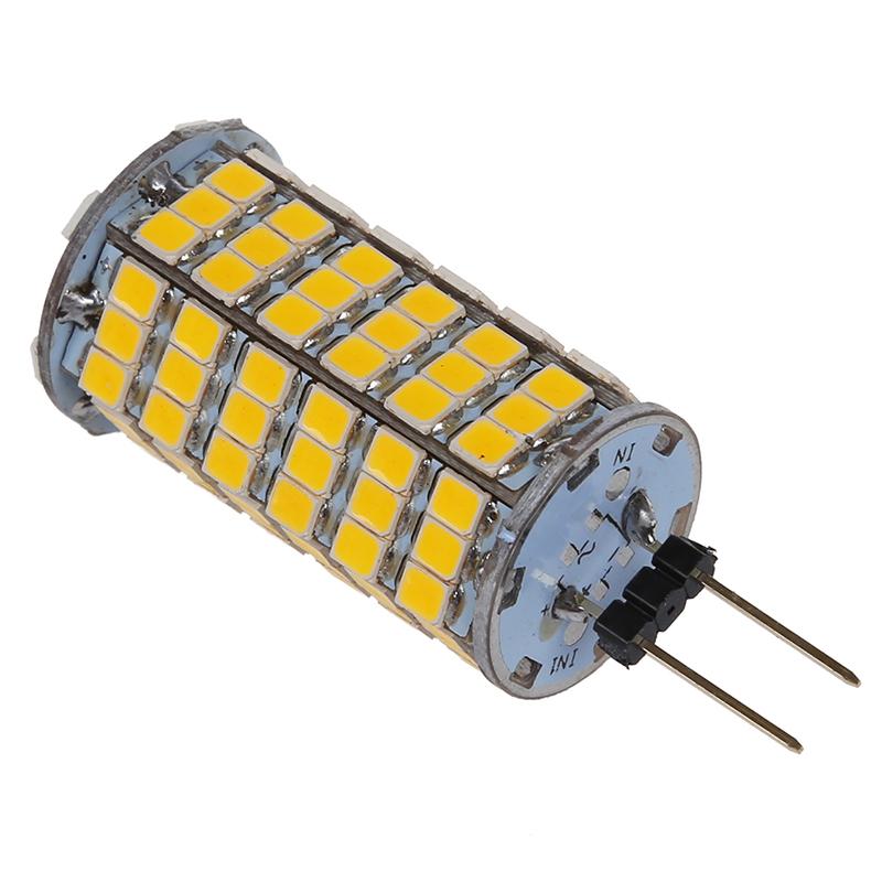 thumbnail 3 - G4 5.5W 120 SMD 3528 LED Car Spot Light Bulb Lamp DC 12V V6V8