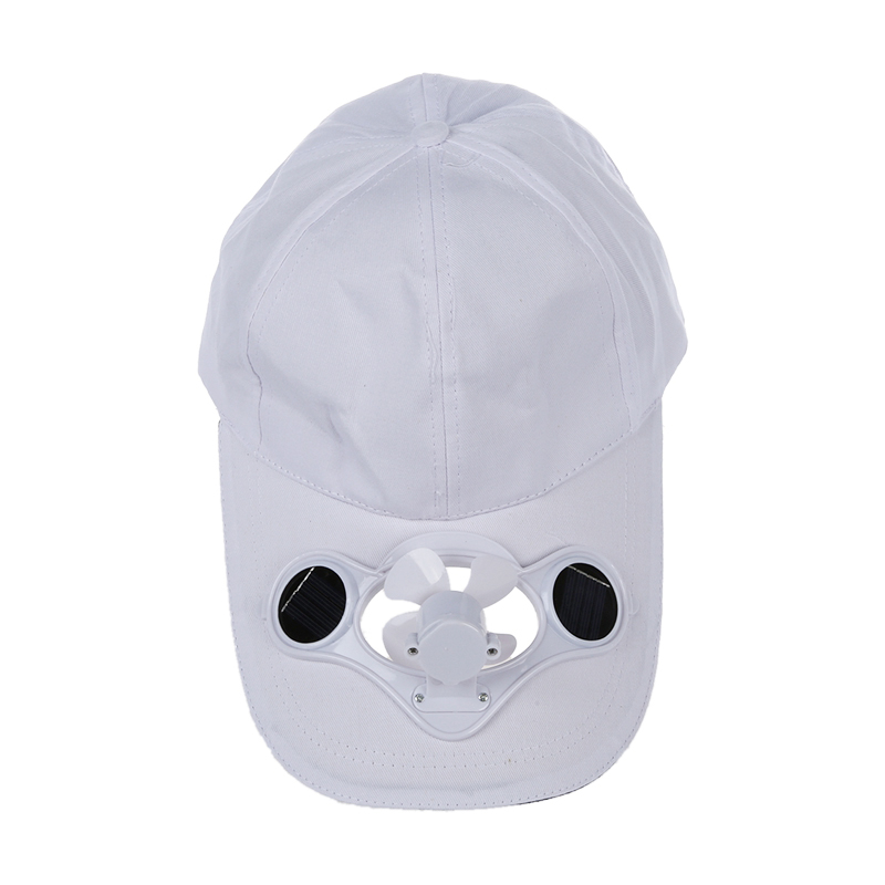 093883603 Details about 1X(Summer Outdoor Solar Sun Power Hat Cap Cooling Cool Fan  for Golf Baseball 2P