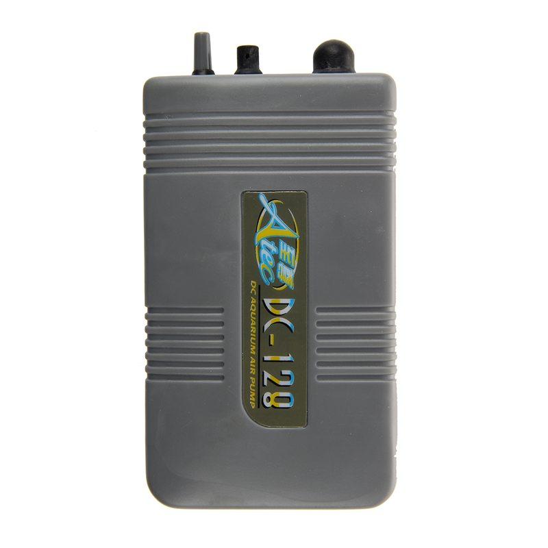 Objective 1x Fish & Aquariums pompe A Air D'aquarium Portable Alimente Par Batterie S9e2 Pet Supplies