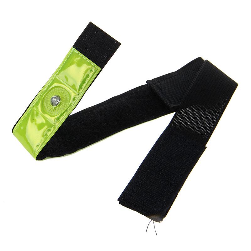 2-x-Reflective-Band-Arm-Leg-Strap-Belt-4-LED-Light-Cycling-Running-Jogging-X5Q1 thumbnail 5