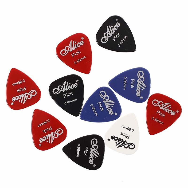 3X(10 x Plektrum Gitarren Zubehoer Alice Guitar Plektrum 0.96mm Z1Y9 ...