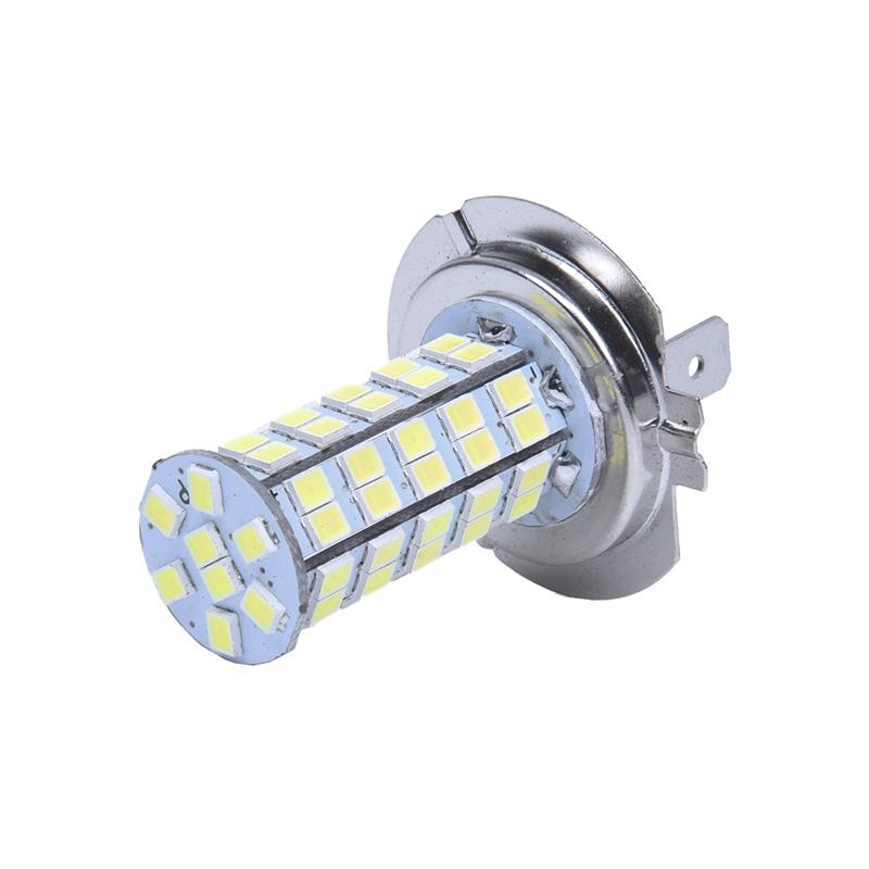 h7 ampoule lampe 3528 smd 68 leds blanc 12v pour voiture. Black Bedroom Furniture Sets. Home Design Ideas