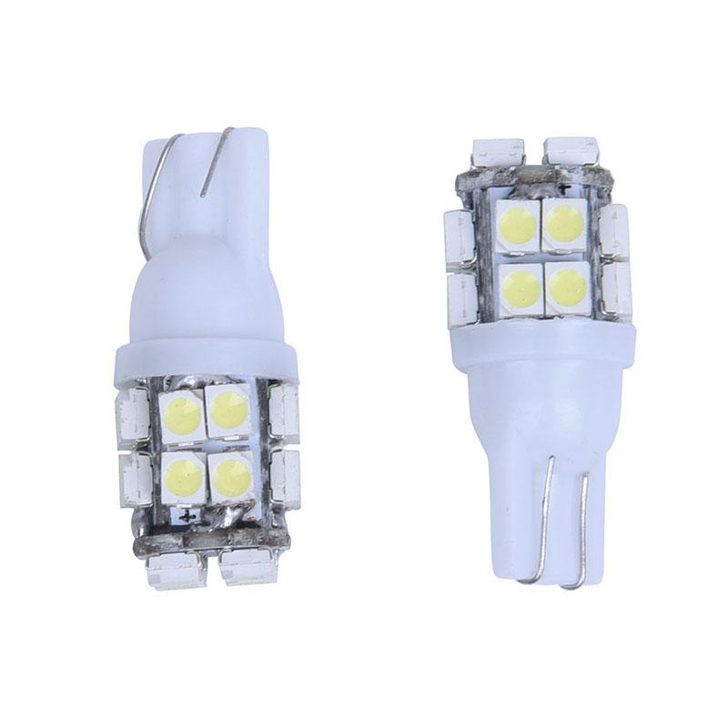 10-x-T10-Bombilla-de-coche-20-SMD-LED-luz-del-velocimetro-Lampara-de-fijaci-X3M1 miniatura 2