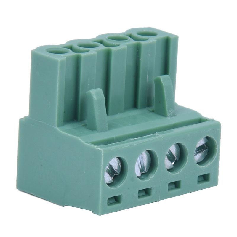 5X-10-pezzi-Angelo-4-pin-da-5-08-mm-morsetti-a-vite-a-innesto-Tipo-spina-X6G7