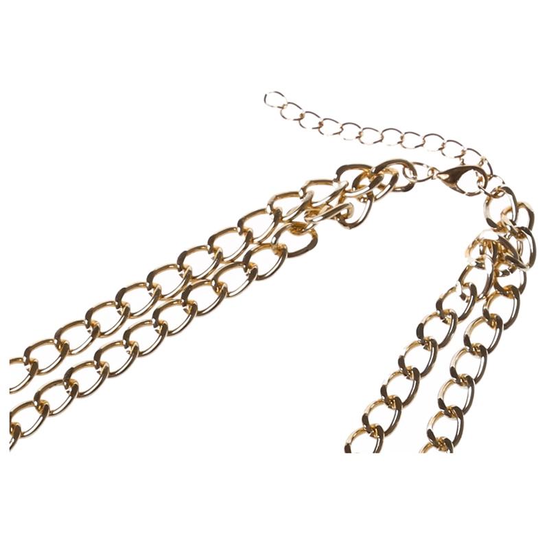 3X-Modeschmuck-Halsketten-fuer-Frauen-Wassertropfen-Seil-Kette-E9R7 Indexbild 5