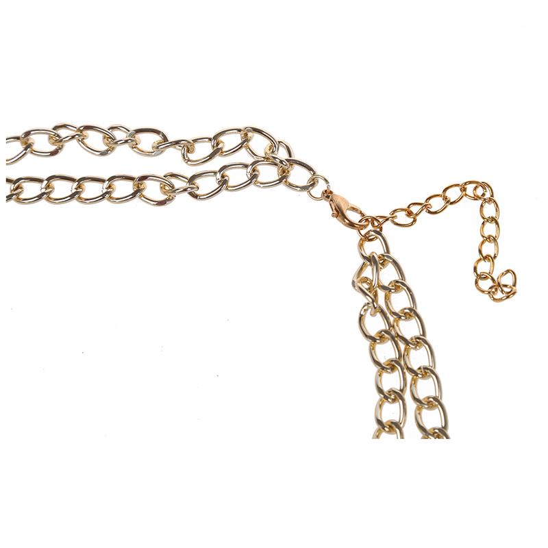 3X-Modeschmuck-Halsketten-fuer-Frauen-Wassertropfen-Seil-Kette-E9R7 Indexbild 18