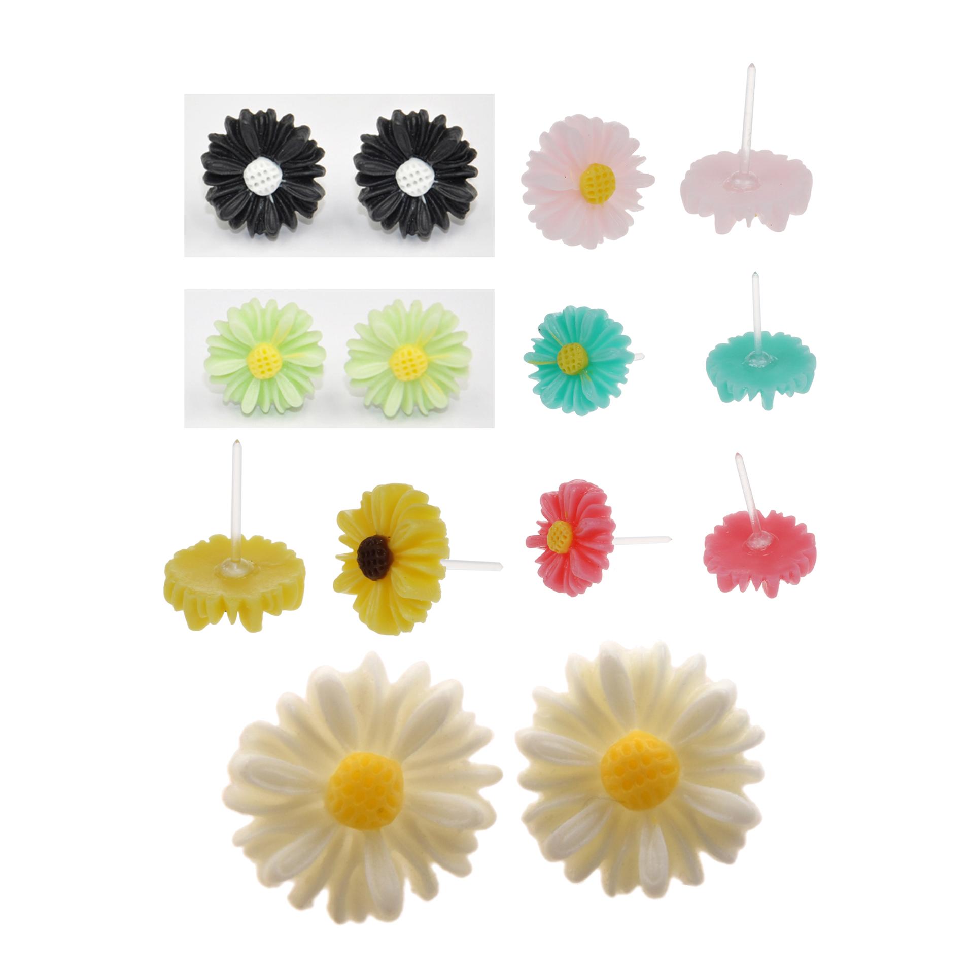 853fba8ea6ae50 Cute Vintage Style Cute Small Daisy Flower Stud Earrings new J8G8 | eBay