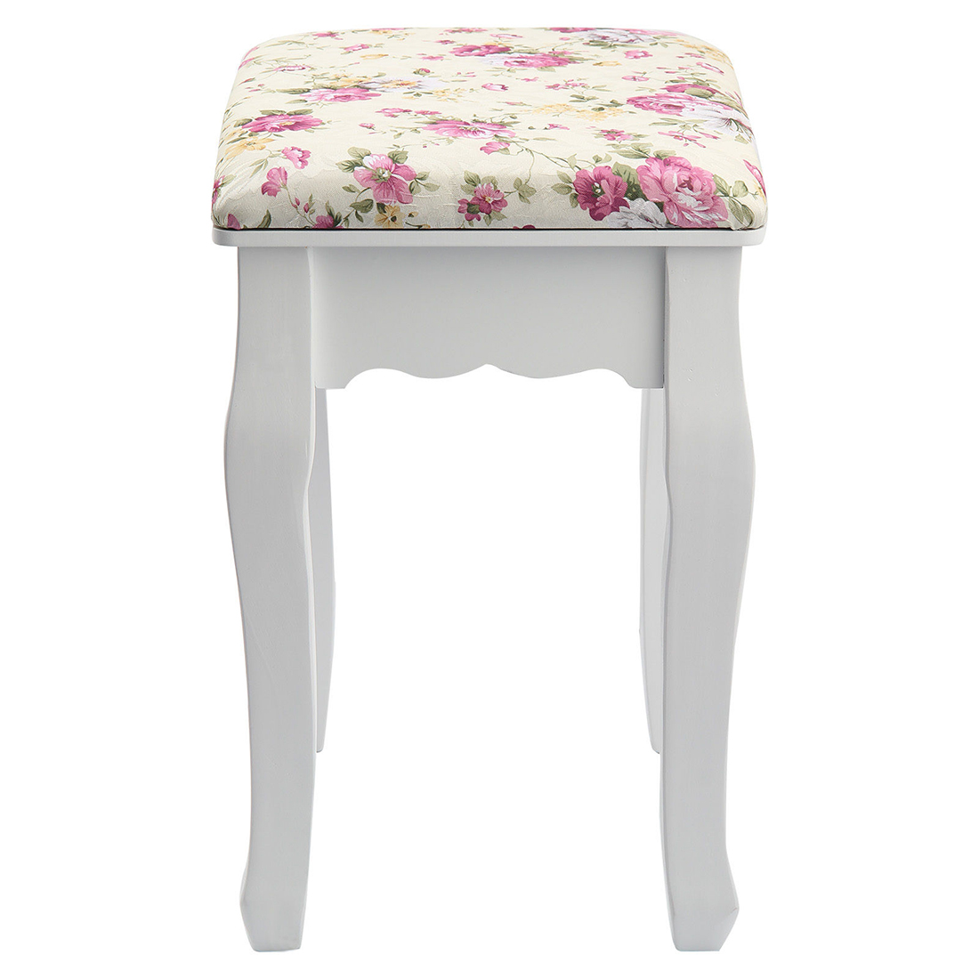rose vintage dressing table stool padded piano chair rest. Black Bedroom Furniture Sets. Home Design Ideas