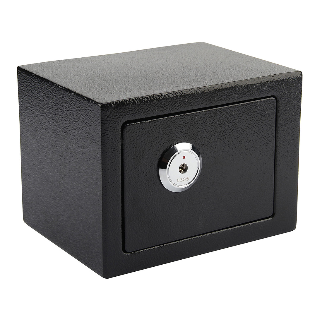 High security safes key lock safety strong steel box home for Home money box