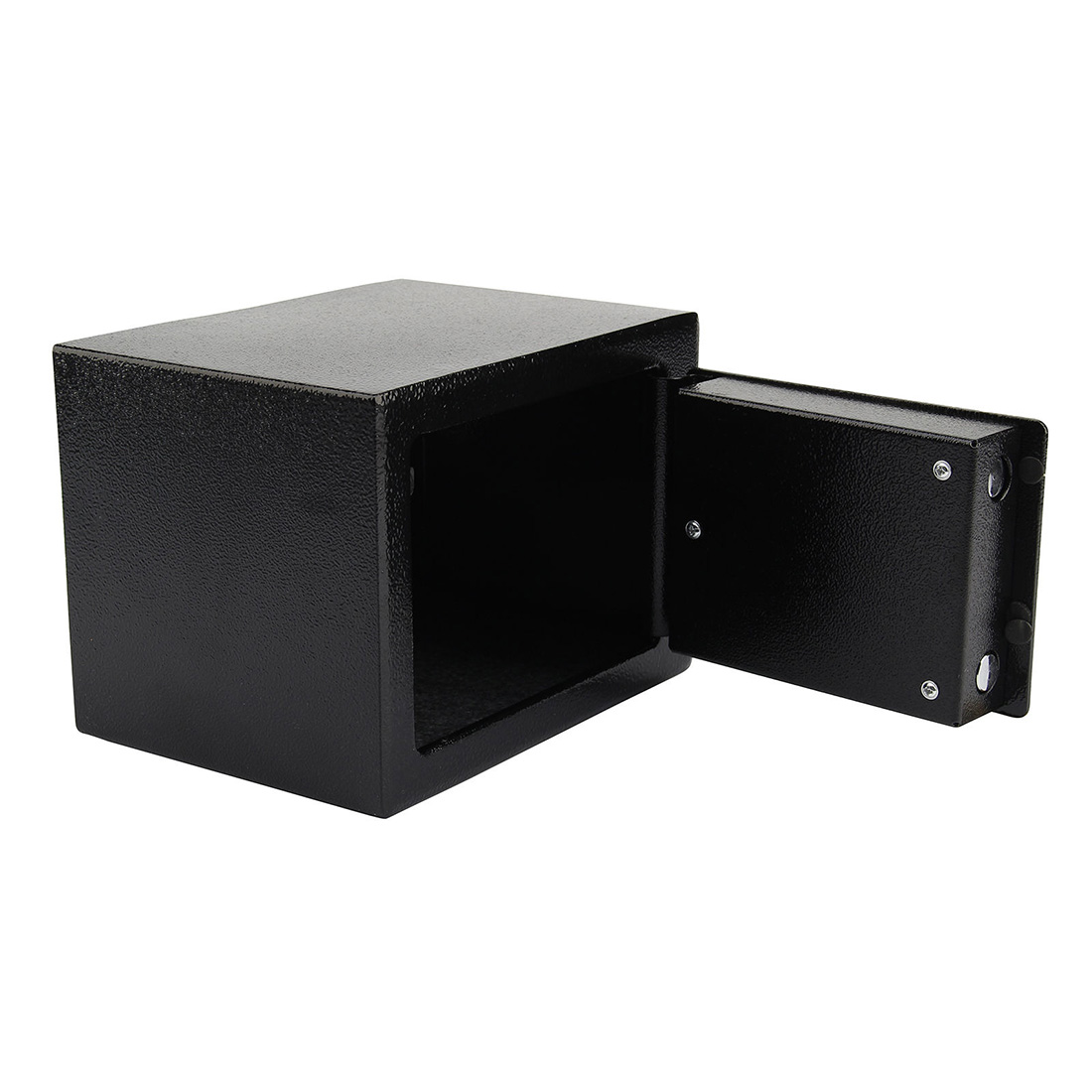 high security safes key lock safety strong steel box home office money cash g8t7 ebay. Black Bedroom Furniture Sets. Home Design Ideas