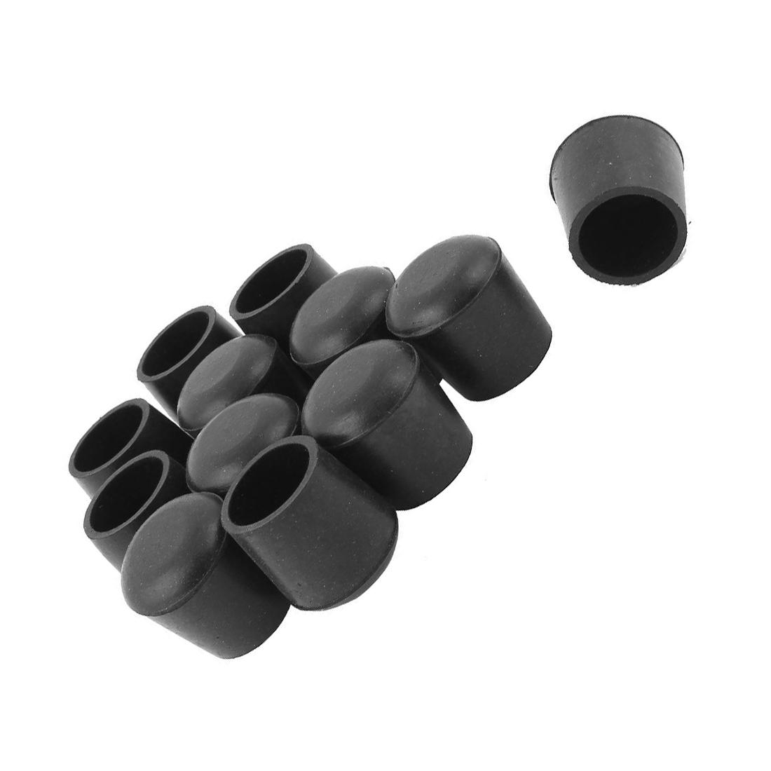 gummi fuesse fuer gehhilfen hocker stuhl spitze 12 stueck schwarz j4 ebay. Black Bedroom Furniture Sets. Home Design Ideas