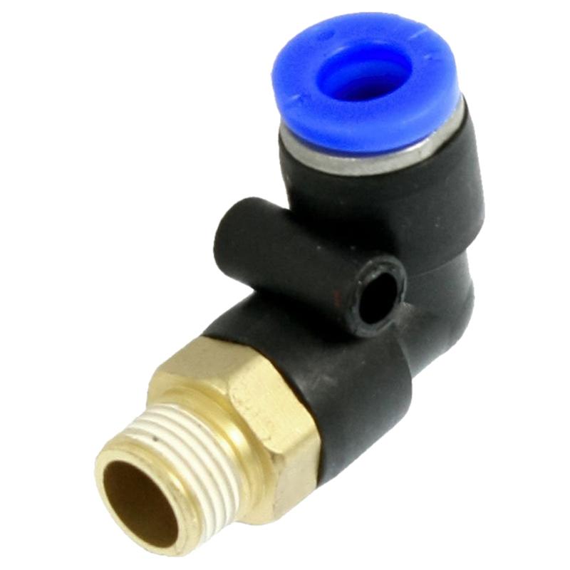 8X X9 4 mm bis 6 mm Push Adapter Pneumatische Verbindung Fittings N9I9