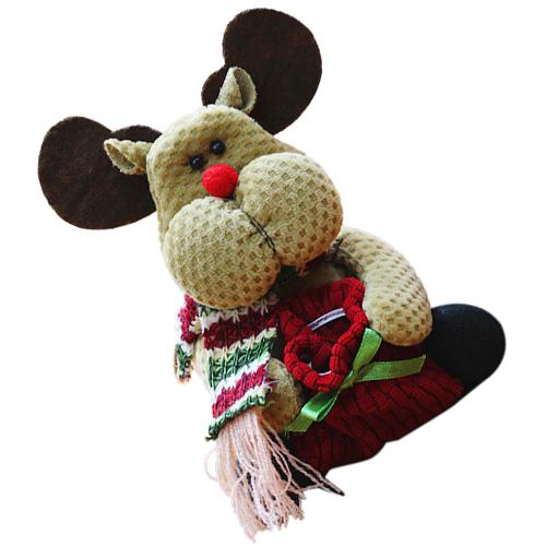 Lindo-Media-de-Navidad-Decoracion-de-Navidad-Ano-Nuevo-X3X9 miniatura 9