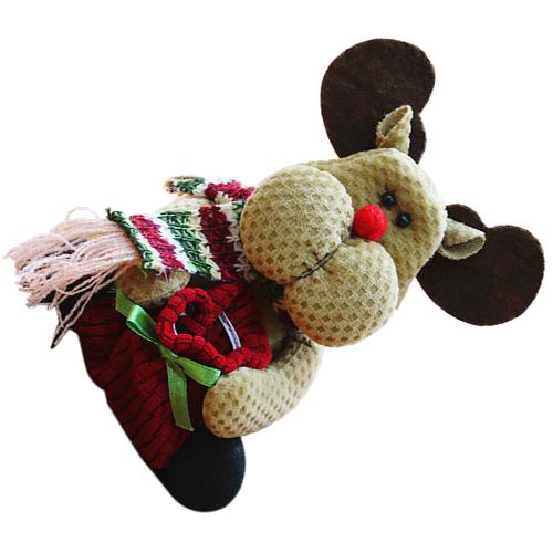 Lindo-Media-de-Navidad-Decoracion-de-Navidad-Ano-Nuevo-X3X9 miniatura 10
