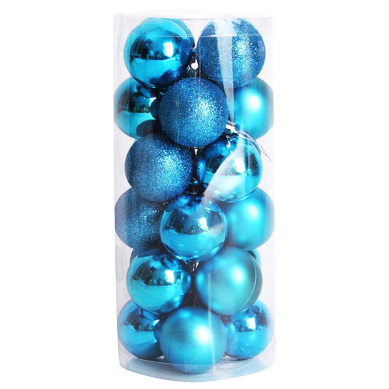 2X-24-pz-decorativi-xmas-6cm-Capodanno-Decorazioni-Albero-di-Natale-Palle-d-R4O7 miniatura 4