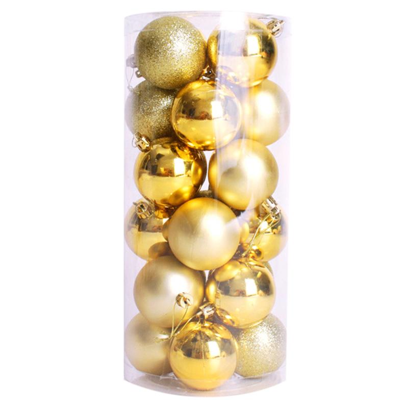 2X-24-pz-decorativi-xmas-6cm-Capodanno-Decorazioni-Albero-di-Natale-Palle-d-R4O7 miniatura 8