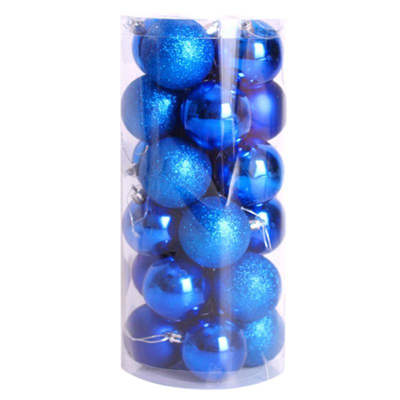 2X-24-pz-decorativi-xmas-6cm-Capodanno-Decorazioni-Albero-di-Natale-Palle-d-R4O7 miniatura 11