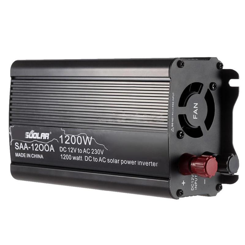 5x(1200w Dc12v to Ac220-240v AC Household Solar Power Inverter ...