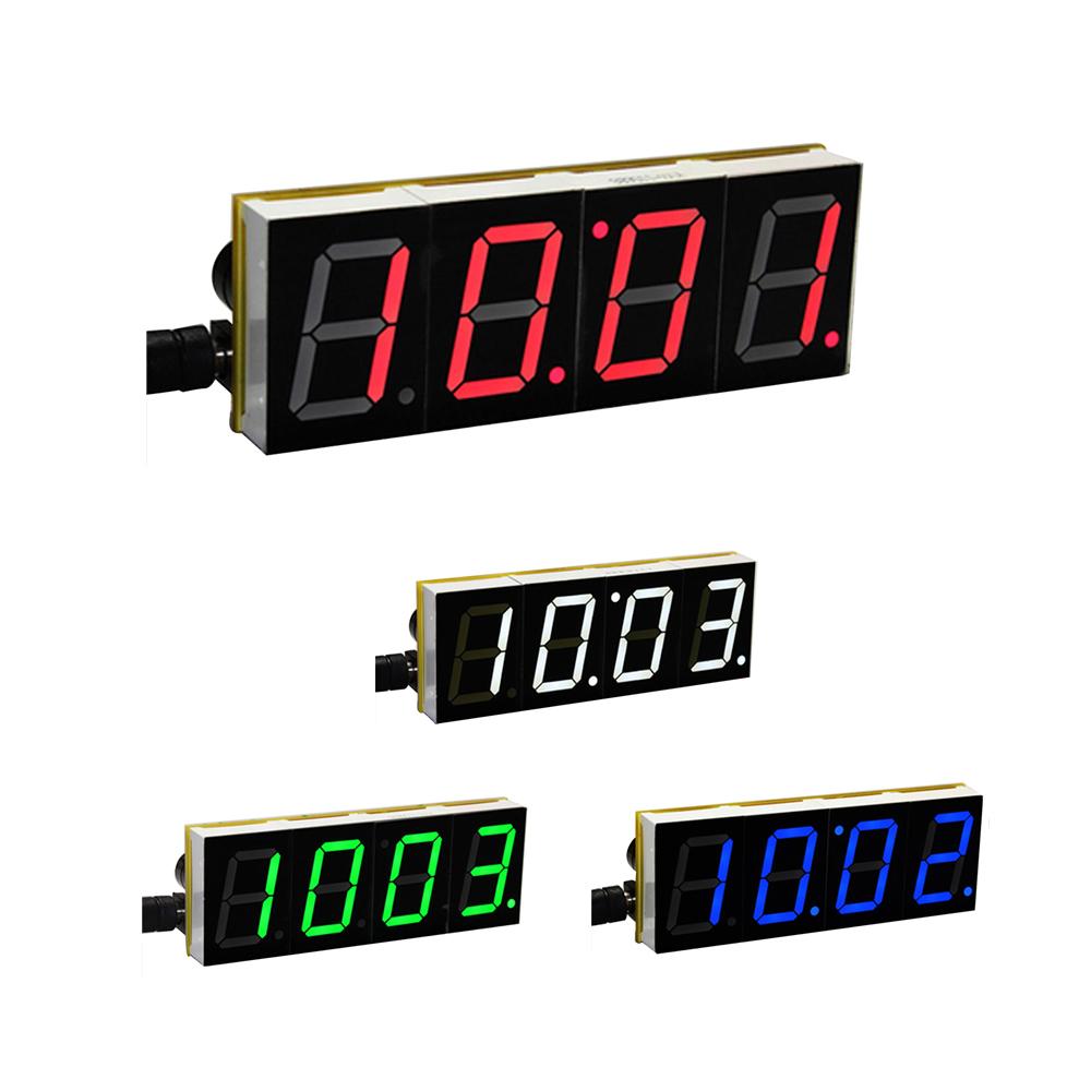 diy digital led large screen display clock kit l7t6 ebay. Black Bedroom Furniture Sets. Home Design Ideas