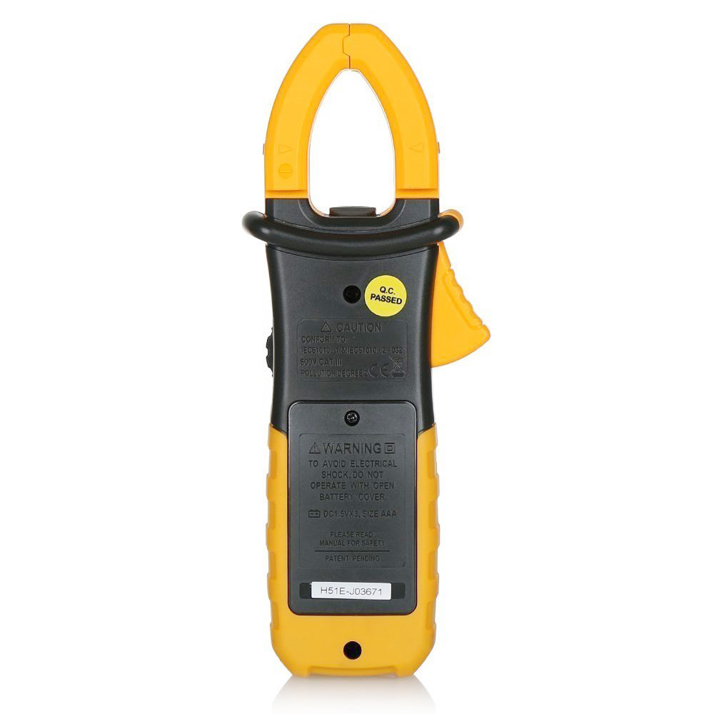 Ac Dc Current Clamp On Meter : Hyelec digital clamp meter multimeter ac dc current volt