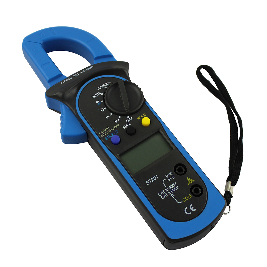 Clamp On Multimeters Current Probes : Digital clamp multimeter ohm amp meter ac dc current